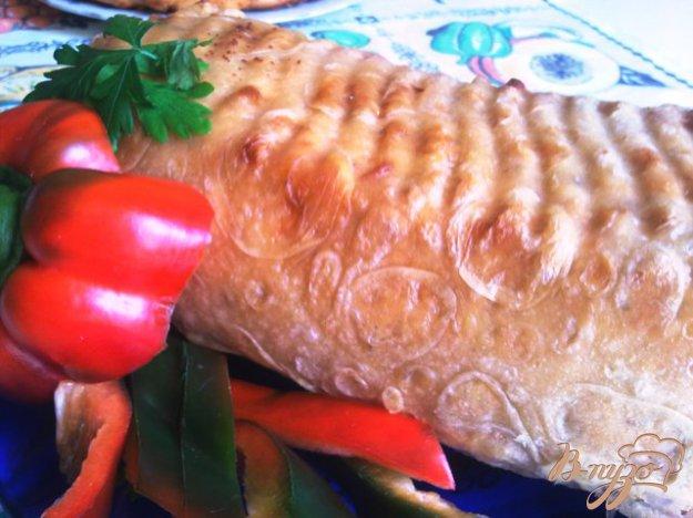 Рецепт Мясной кекс в лаваше