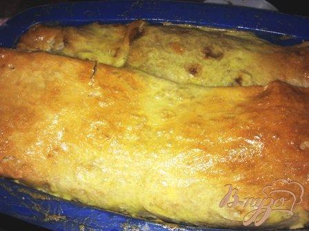 Мясной кекс в лаваше