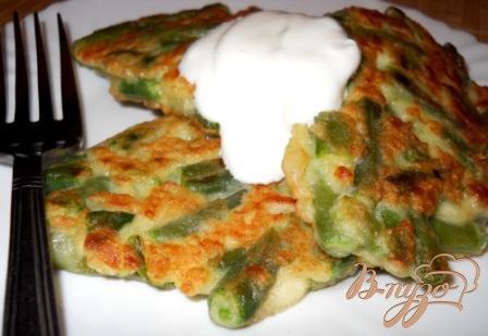 Рецепт Вегетарианские шницели из стручковой фасоли