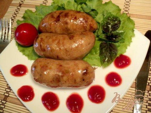Картофельная колбаса.