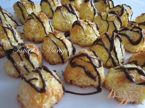 Кокосовые роше на десерт