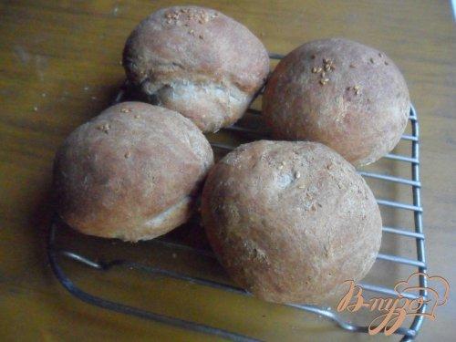 Хлебные булочки с цельнозерновой мукой