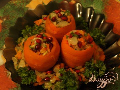 Морковные бочонки