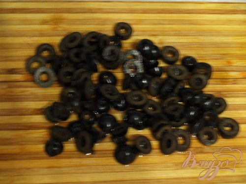 Постный перловый гарнир с оливками