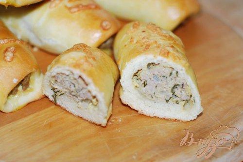 ����������� ������ � ��������� ���������� ��� Brabantse worstenbroodjes