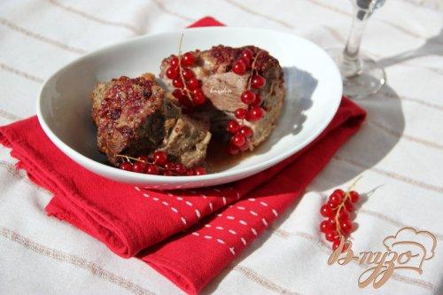 Свинина в смородиново-горчичном маринаде