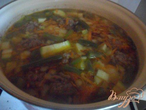 Суп с фрикадельками и цветной капустой