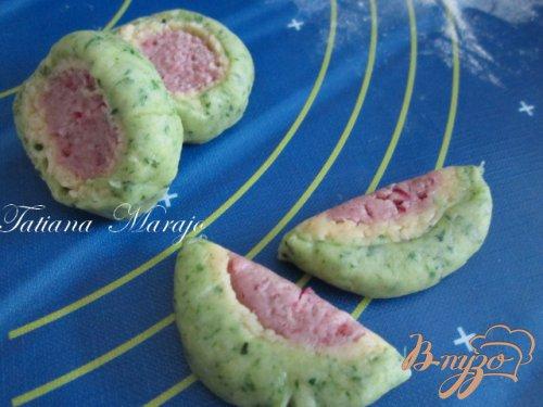 Разноцветное печенье
