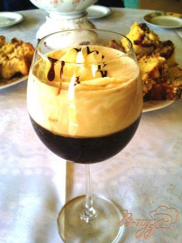 Ароматный кофе гляссе