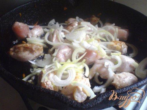 Ароматное куриное филе с чесноком и кинзой