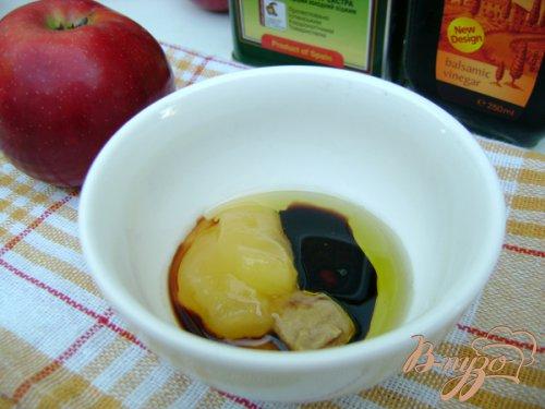 Капустно-яблочный салат с оригинальной заправкой