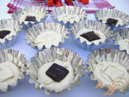 Мини-кексы «Черешенка»
