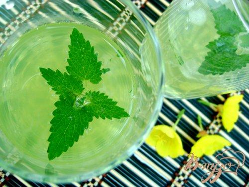 Охлаждающий напиток с мятой и лимоном