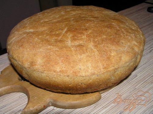 Пшеничный хлеб на хмелевой закваске