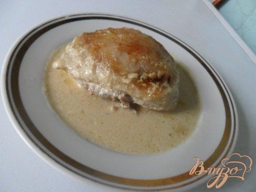 "Курица в сметанно-горчичном соусе ""Неженка"""