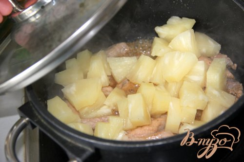 Свинина с ананасом по-китайски