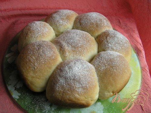 Ванильные булочки (на закваске)