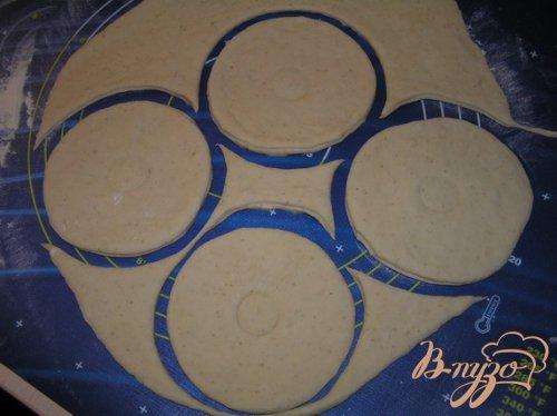 Пирожки с тунцом и рисом