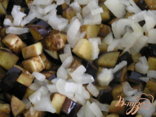 Овощное рагу с баклажаном и зеленой фасолью