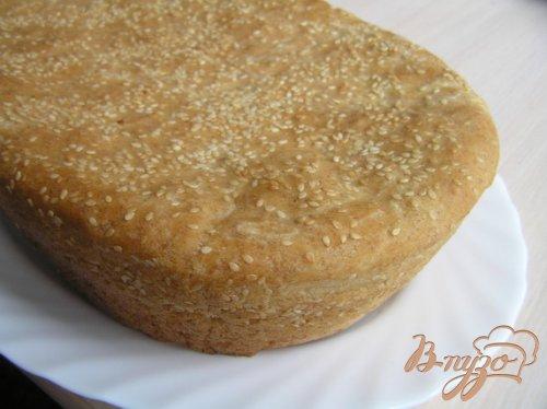 Кукурузный хлеб с кунжутом