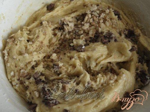 Грушёвый кекс с шоколадом