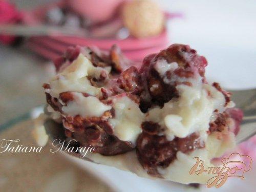 Ежевичный десерт