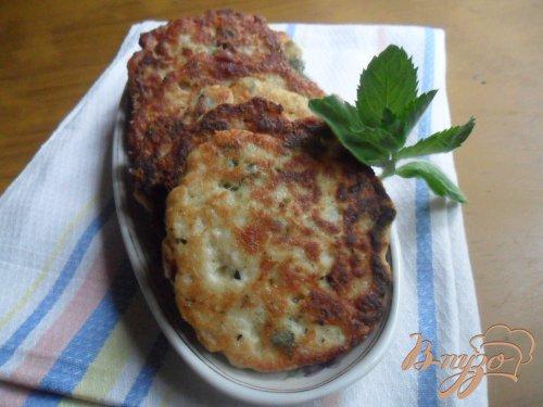 Хлебные тефтели с мятой