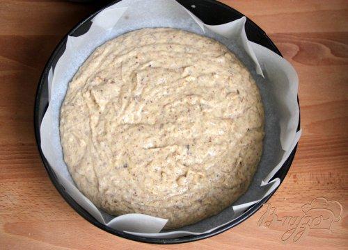 Нежный ореховый пирог