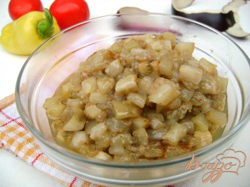"""Салат """"Пан Баклажан"""" с овощами, говядиной и сметанно-горчичной заправкой!"""