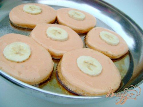 Пудинговые оладьи с бананом