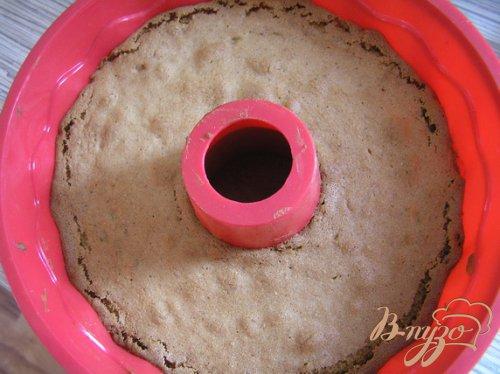 Миндальный кекс с брусникой