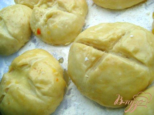 Дрожжевые булочки и цитрусовым кремом