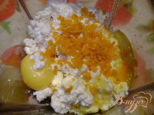Апельсиновый чизкейк из домашнего творога