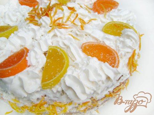 Торт «Цитрусовые облака»