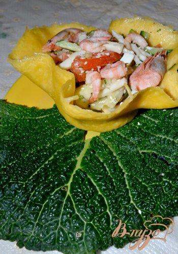 Морской салат в чешуе Дракона!!!)