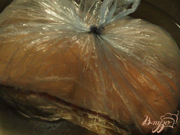 Фото приготовление рецепта: Рулет из сала шаг №3