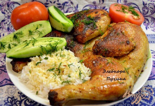 Рецепт Жареная курица.