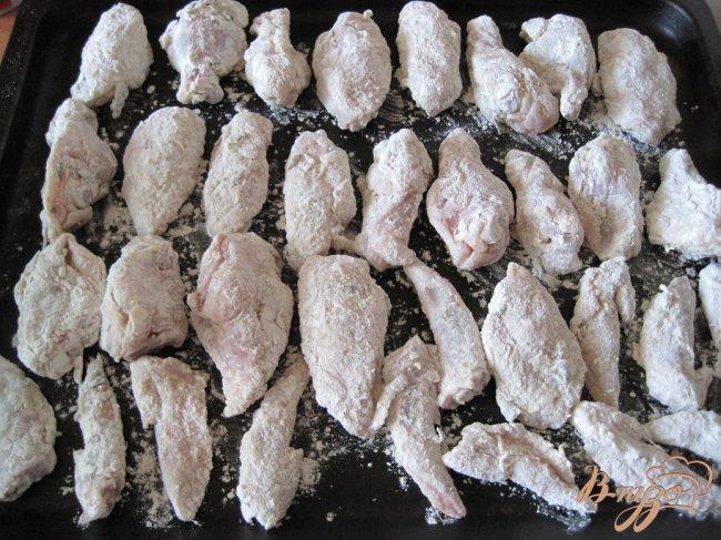 крылья на соли в духовке рецепт
