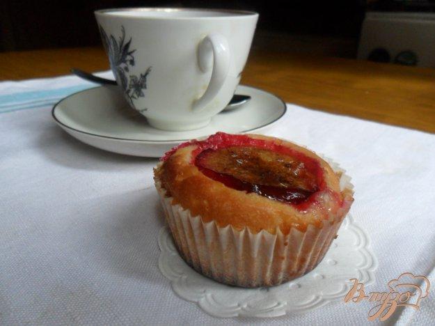 Рецепт Кексы со сливами