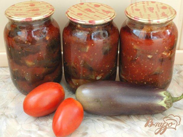 фото рецепта: Баклажаны в томате