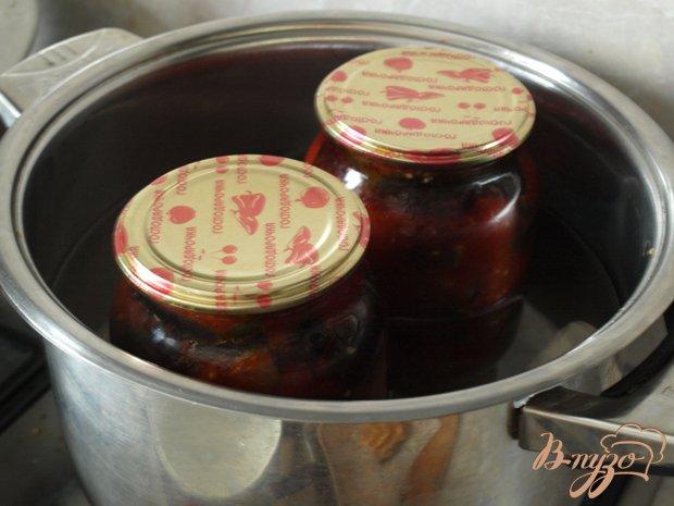 Фото приготовление рецепта: Баклажаны в томате шаг №2