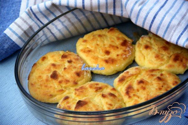 фото рецепта: Запечёные картофельно-творожные котлеты