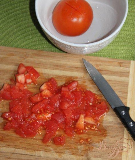 Фото приготовление рецепта: Полента-пирог шаг №4