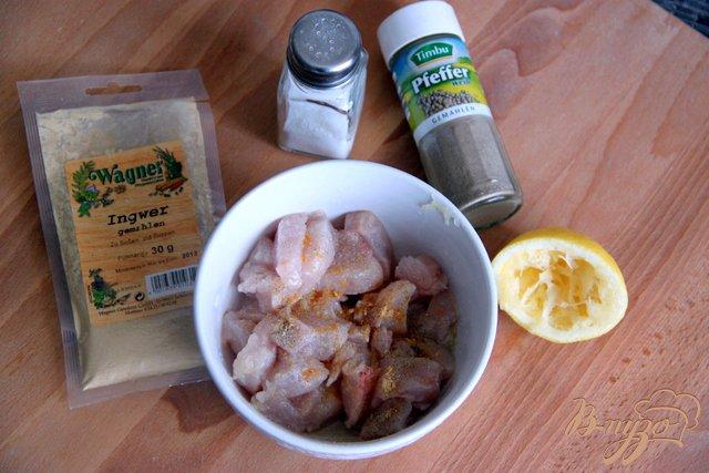 Фото приготовление рецепта: Баклажаны с курино-ореховой  начинкой шаг №2
