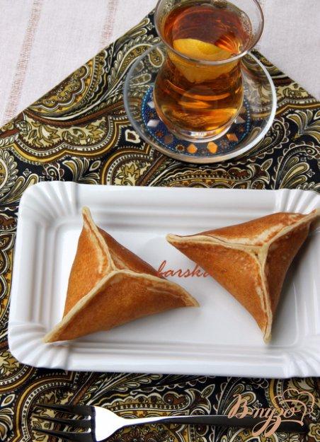 """Рецепт Арабские блинчики """"Катаеф""""/Qatayef с яблоками, орехами и творогом"""