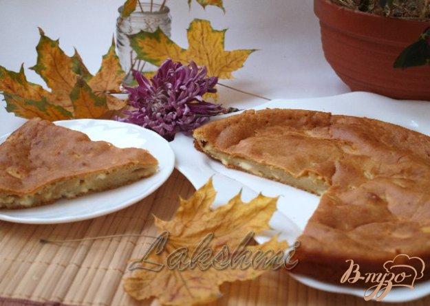 фото рецепта: Болгарская лепёшка с брынзой