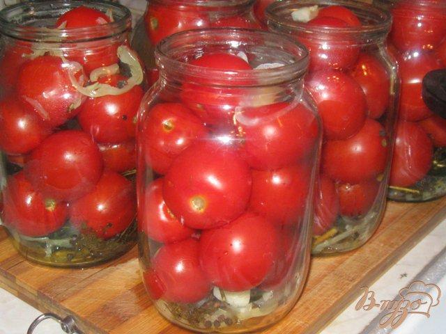 Фото приготовление рецепта: Консервированные помидоры шаг №1