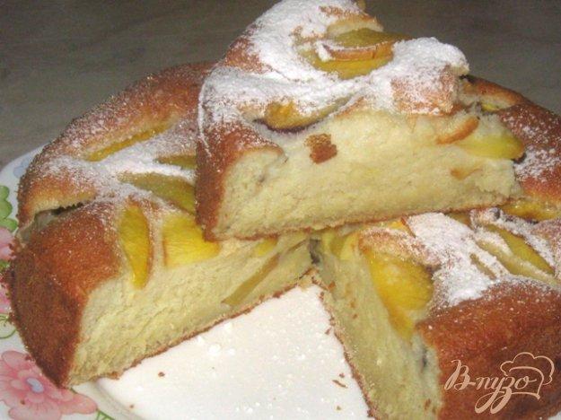 Рецепт Пирог с нектаринами