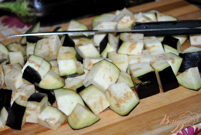 Фото приготовление рецепта: Баклажаны замороженные шаг №2