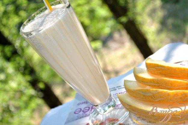 Рецепт Молочный коктейль с дыней